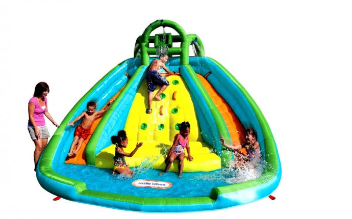 Bouncer Double Water Slide Pool Bounce House Jumper Inflatable