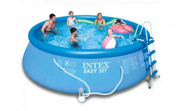 Buy Intex Prefabricated Portable Swimming Pool in India
