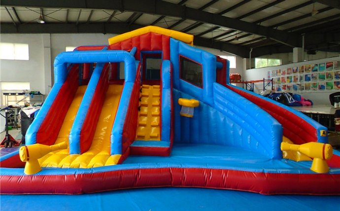 Inflatable Swimming Pool Slides,Water Slide Pools For Sale