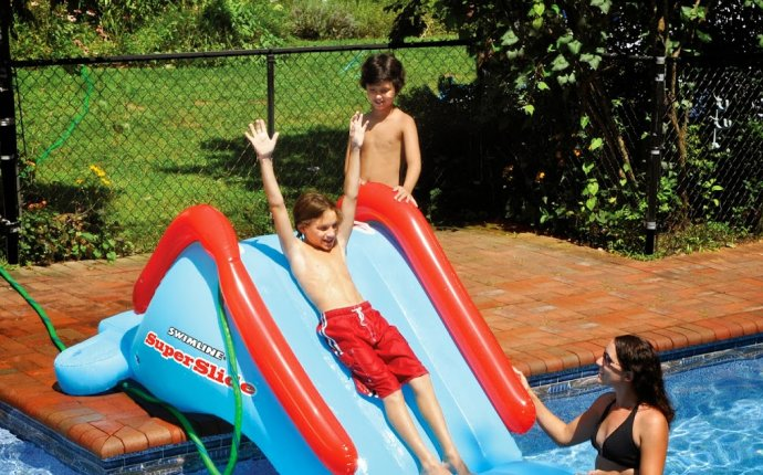 Inflatable Technology: All about Inflatable Swimming Pool Slides