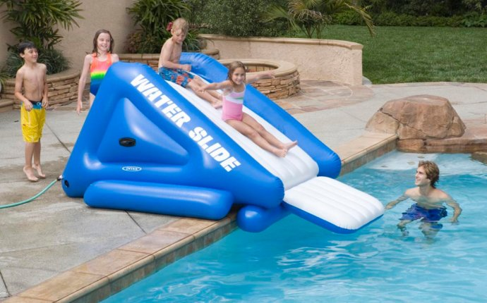 Inflatable Water Slides for Above Ground Pools | Kids Pools