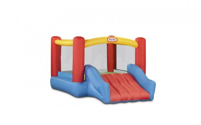 Little Tikes Slam n Curve Inflatable Water Slide - Walmart.com