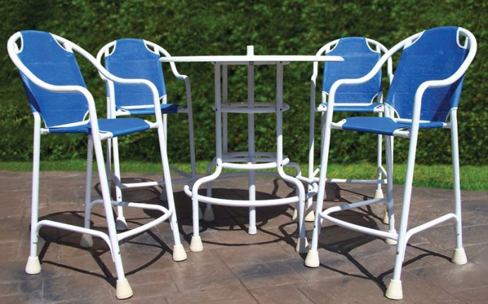 Swimming Pool Patio Table Set - The Green Head