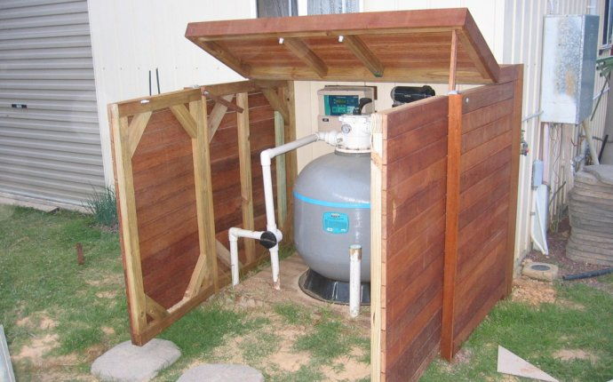 Pool Accessories, Above Ground Pool Pump Storage