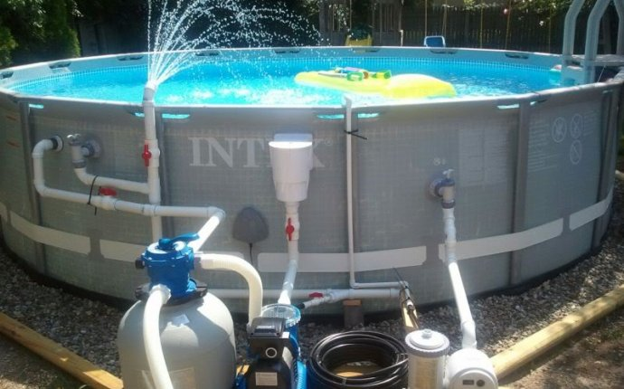 Sand filter for above ground pool Intex